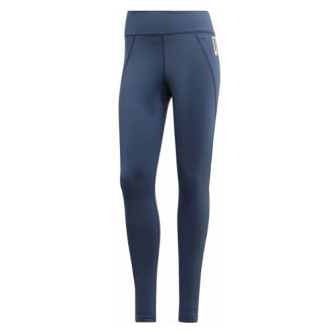 adidas W BB TIGHT blau - Damen Leggings