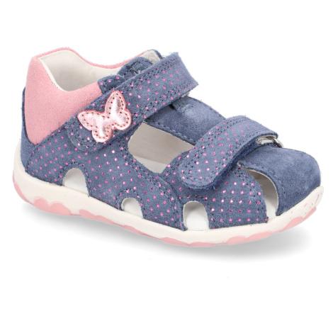 Blaue sandalen für mädchen