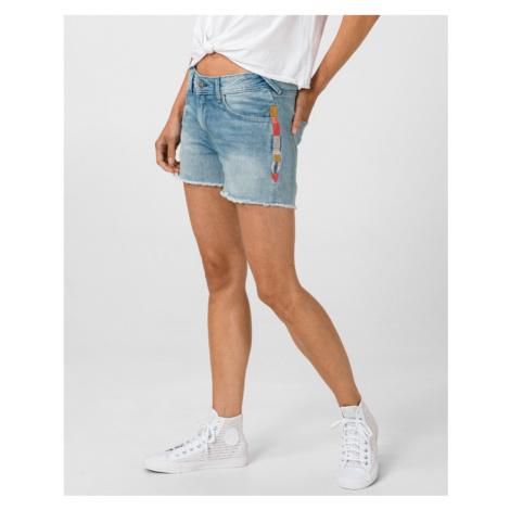 Pepe Jeans Thrasher Rainbow Shorts Blau