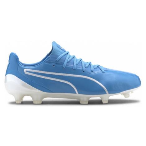 Puma KING PLATINUM FG-AG blau - Herren Fußballschuhe
