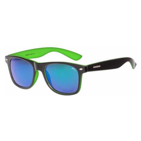 Sonnen Brille RELAX Chau schwarz green R2284C