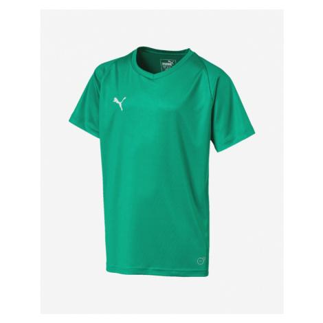 Puma Liga Jersey Core Kinder  T‑Shirt Grün