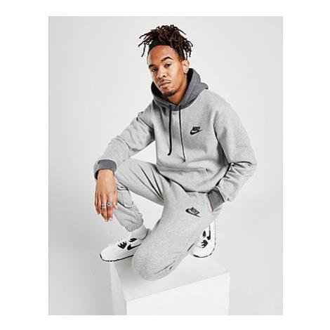 Nike Sportswear City Edition Fleece-Trainingsanzug Herren - Dark Grey Heather/Charcoal Heather/B