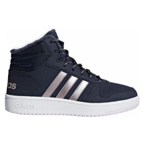 adidas HOOPS MID 2.0 K blau - Kinder Sneaker