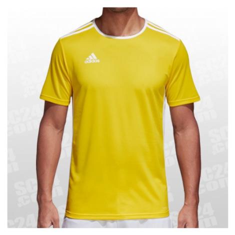 Adidas Entrada 18 Jersey gelb/weiss Größe S