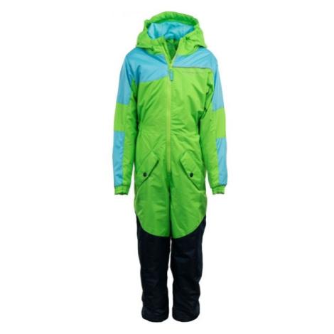 ALPINE PRO BASTO grün - Kinder Winteroverall
