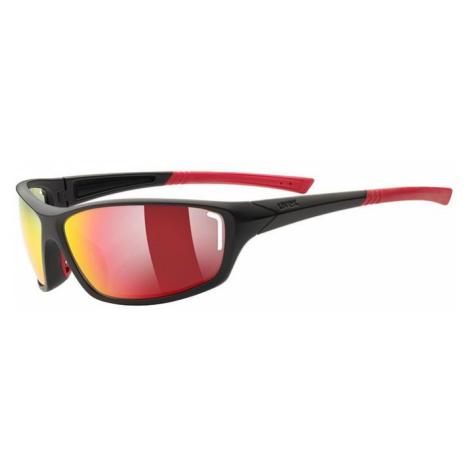 Sport- Brille Uvex Sportstyle 210 black Mat red (2316)