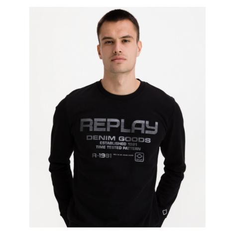 Replay Sweatshirt Schwarz
