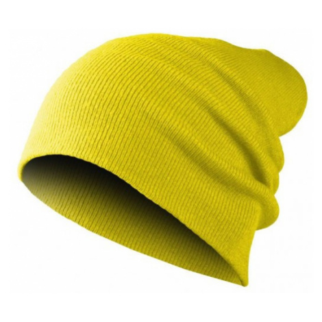 MASTERDIS Beanie - BEANIE BASIC FLAP - Neon Yellow
