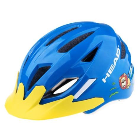 Head KID Y11A blau - Kinder Fahrradhelm