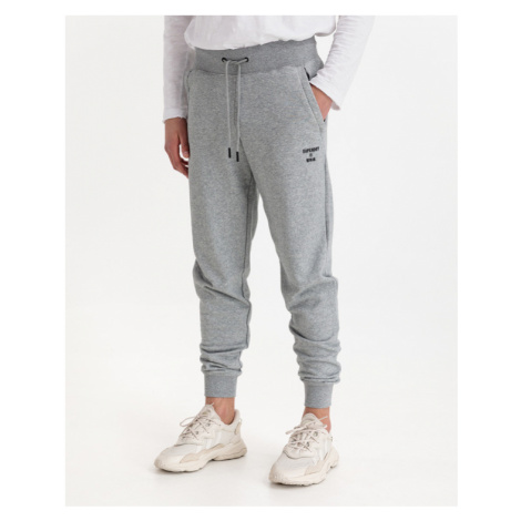 SuperDry Training Core Sport Jogginghose Grau