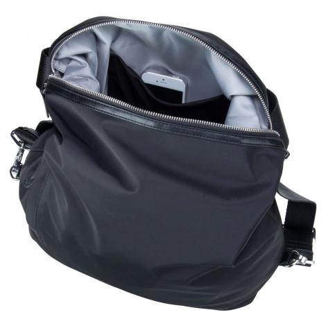 Mandarina Duck Handtasche Hunter Hobo Backpack VCT10 Black (20.2 Liter)
