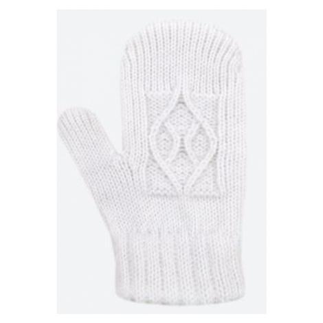 Kinder gestrickte Merino Handschuhe Kama RB202 101