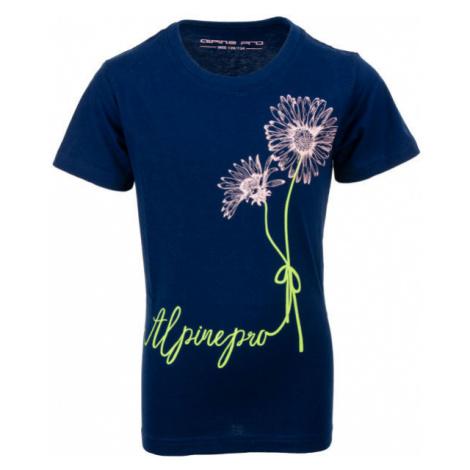 ALPINE PRO TABORO dunkelblau - Kinder Shirt