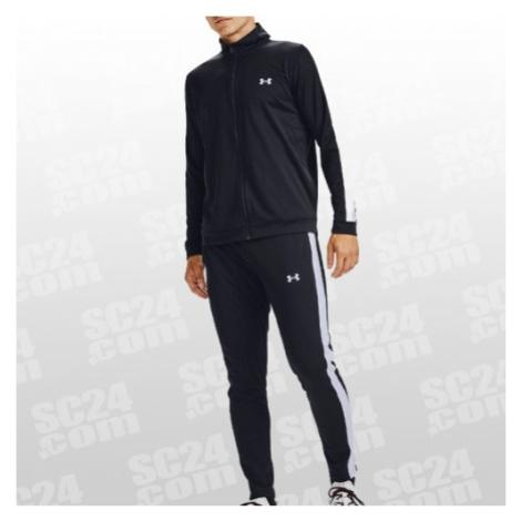 Under Armour Knit Track Suit schwarz/weiss Größe MD