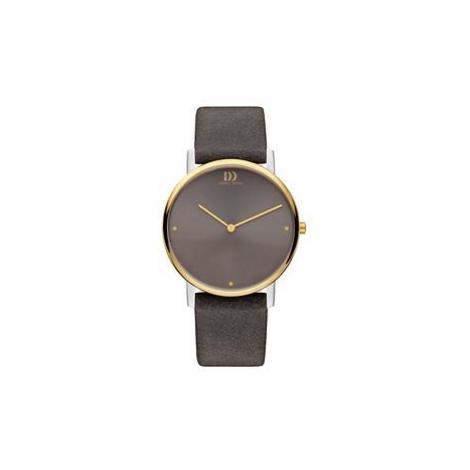 Armbanduhr 'Design' dunkeltaupe
