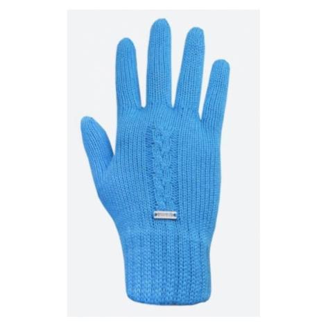 Gestrickte Merino Handschuhe Kama R103 115 türkis