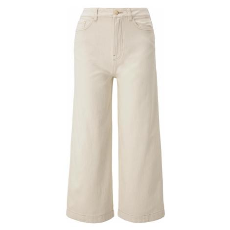 TOM TAILOR DENIM Damen Culotte Jeans, beige