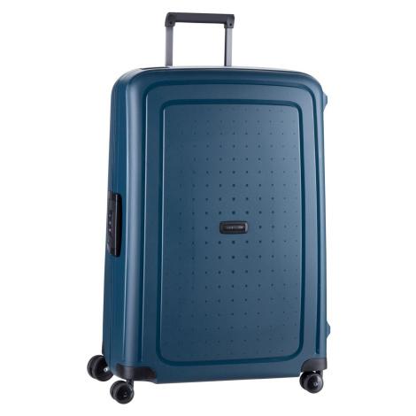 Samsonite Trolley + Koffer S'Cure Eco Spinner 75 Post Consumer Navy Blue (102 Liter)