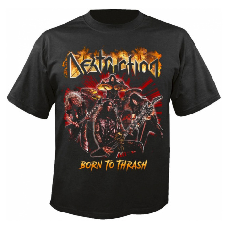 Metal T-Shirt Männer Destruction - Born to thrash - NUCLEAR BLAST - 29552_TS XXL