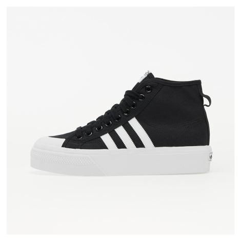 adidas Nizza Platform Mid W Core Black/ Ftw White/ Ftw White