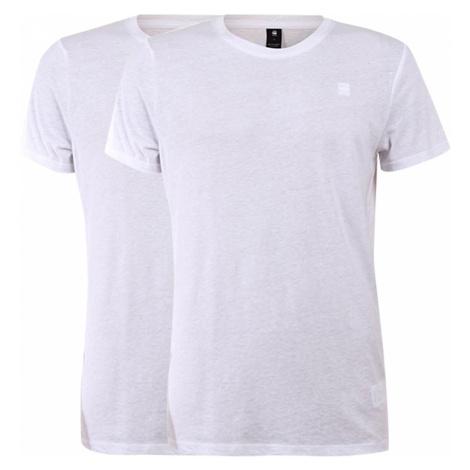 G-Star Herren Basic T-Shirt Rundhals 2er Pack G-Star Raw