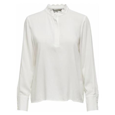 ONLY Einfarbige Hemd Damen White