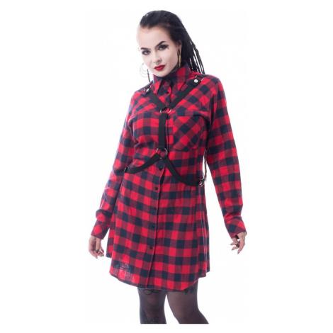 Damen Kleid VIXXSIN - MASTER - ROT PRÜFEN - POI855