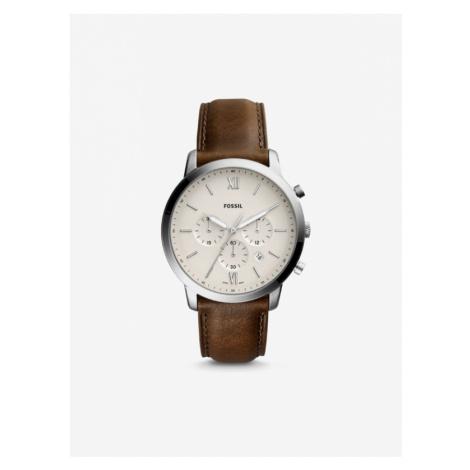 Fossil Neutra Chrono Watch Braun