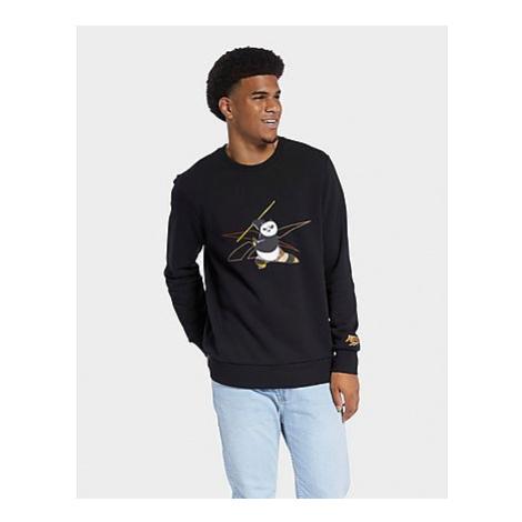 Reebok kung fu panda crew sweatshirt - Black - Herren, Black