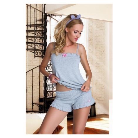 Damen Pyjamas Elian grey Eldar