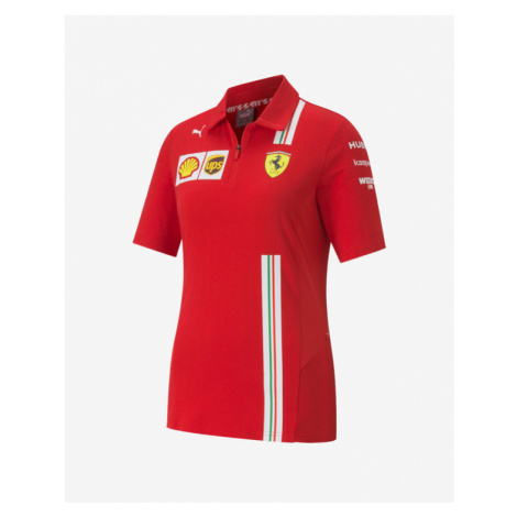 Puma SF Team Polo T-Shirt Rot
