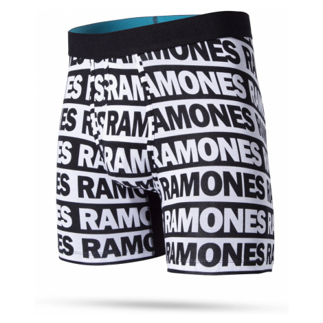 Boxershorts für Herren THE RAMONES - WHOLESTER BLACK von STANCE M