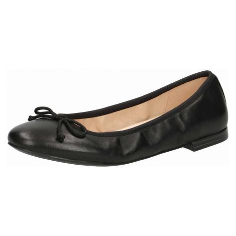 Damen Caprice Ballerinas schwarz