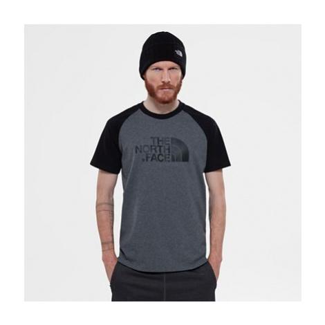 The North Face Raglan Easy T-shirt Für Herren Tnf Medium Grey Heather