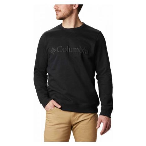 Columbia LOGO FLEECE CREW schwarz - Herren Sweatshirt