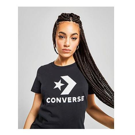 Converse Chevron T-Shirt Damen - White - Damen, White