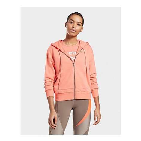 Reebok reebok identity zip-up track jacket - Twisted Coral - Damen, Twisted Coral
