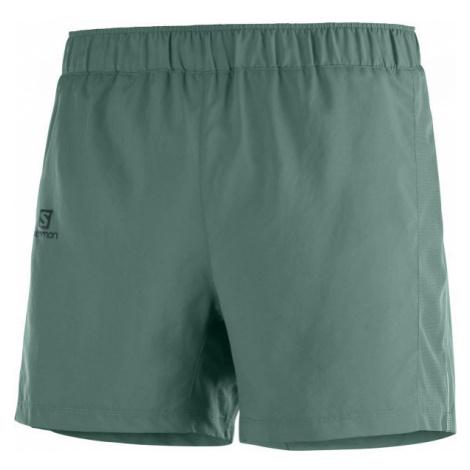 Salomon AGILE 5 SHORT dunkelgrün - Herren Shorts