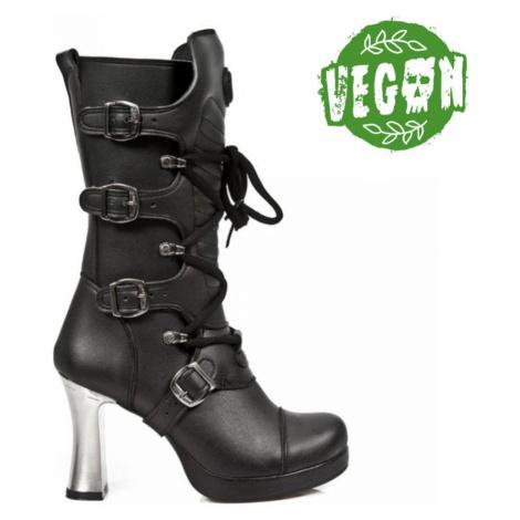 High Heels Frauen - VEGAN NEGRO ** VEGAN **, PLATAFORMA - NEW ROCK - M.5815-VC10 41