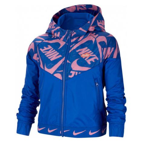 Nike NSW WR JACKET JDIY G blau - Mädchenjacke