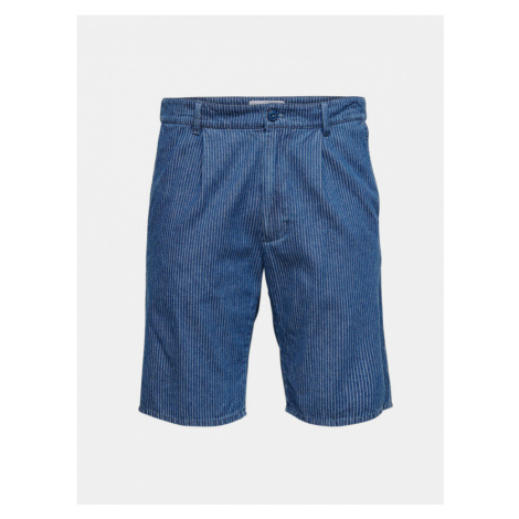 ONLY & SONS Shorts Blau