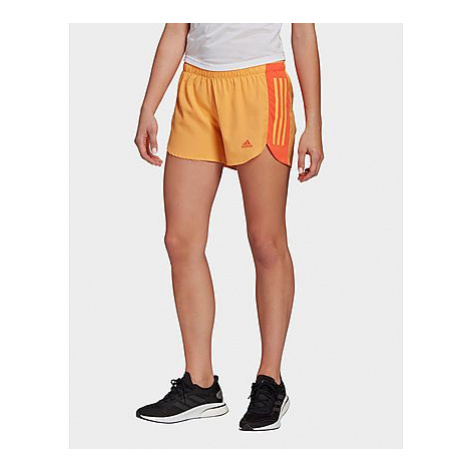 Adidas Run It Shorts - Hazy Orange / True Orange - Damen, Hazy Orange / True Orange