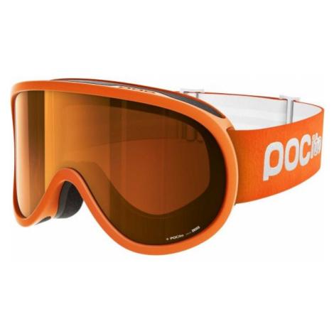 POC POCITO RETINA SLUORESCENT orange - Kinder Skibrille