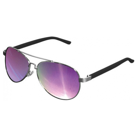 Urban Classics Sunglasses Mumbo Mirror silver/purple