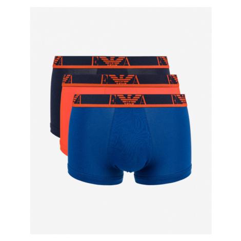 Emporio Armani Boxerky 3 St. Blau Orange