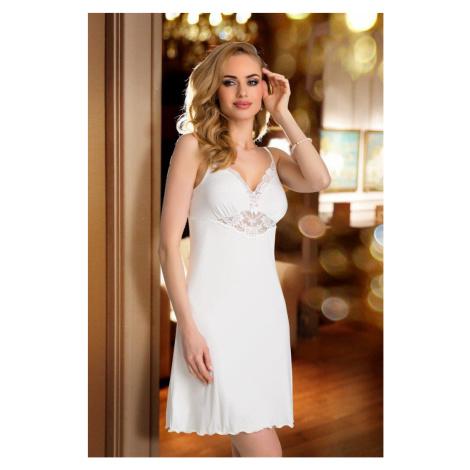 Luxuriöse Nachthemden für Damen Rossi ecru Eldar