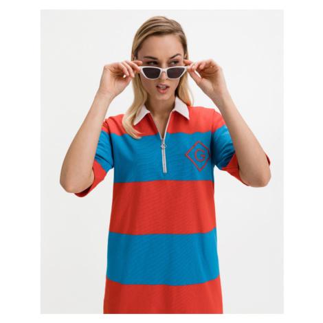 Gant D1 Kleid Blau Rot