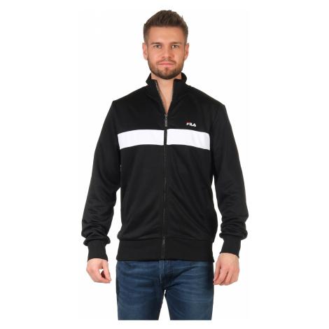 Fila Trainingsjacke Herren SANGA TRACK JACKET 687476 Schwarz/Weiß E09 Black-Bright White