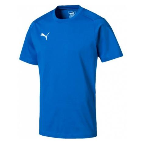 Puma LIGA CASUALS TEE blau - Herren T-Shirt